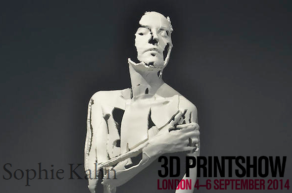 See art by Sophie Kahn at the London 3D Printshow!