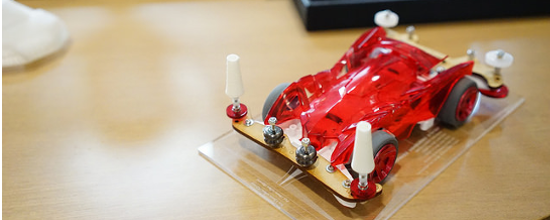 Honda Team Awarded a 3D Printed Trophy as Champions of the Inaugural FabCafe Mini 4WD Cup