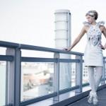 "Wearable Tech Just Got Smarter: Anouk Wipprecht's Intel-Edison-powered, 3D-printed ""Synapse Dress"" Logs Your Mood"