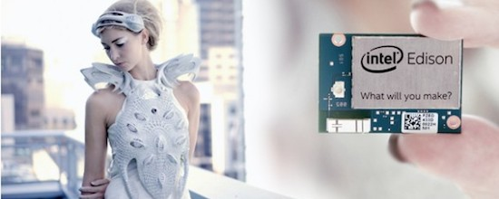 A 3D Printed Mood-Logging Tech Dress: Anouk Wipprecht's Wearables Just Got Smarter