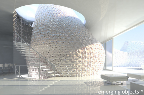 Design Exchange Kicks Off First Ever Large Scale 3D Printing Exhibition further Emergingobjects together with 3d Home Plan besides 3d Home Plan likewise Portfolio. on emerging objects design 3d printed salt house