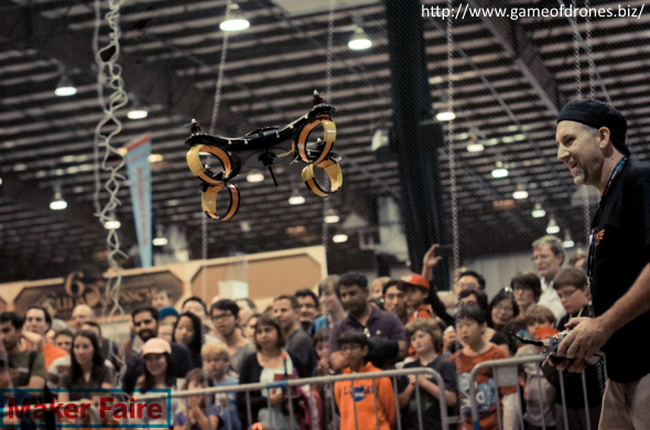 Maker Faire New York 2014 i.materialise Blog Article Photo featuring a photo from Drone Wars