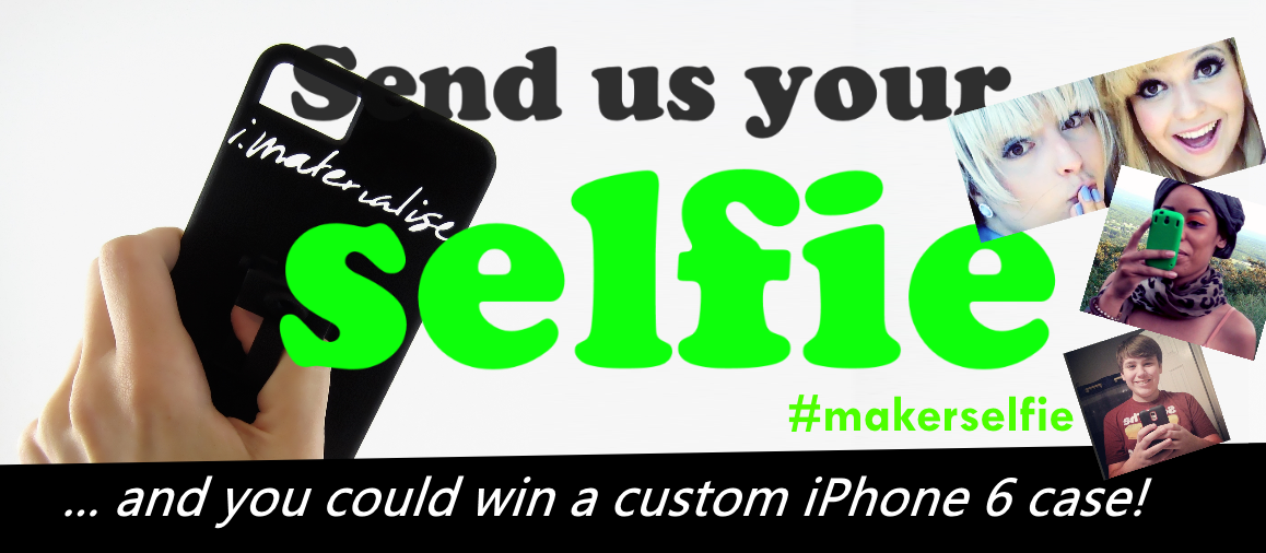 Win a Customised iPhone 6 Case: Send us Your Selfie!