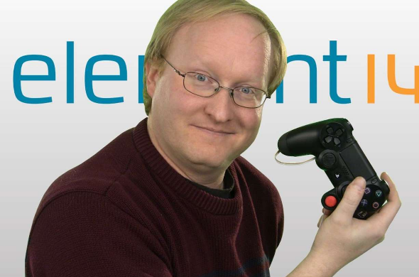 One-handed PS4 Controller created by Ben Heck