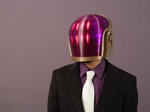 3D Printed Daft Punk Helmet