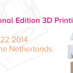Join Us for the 3D Printing Event at the 2014 Dutch Design Week