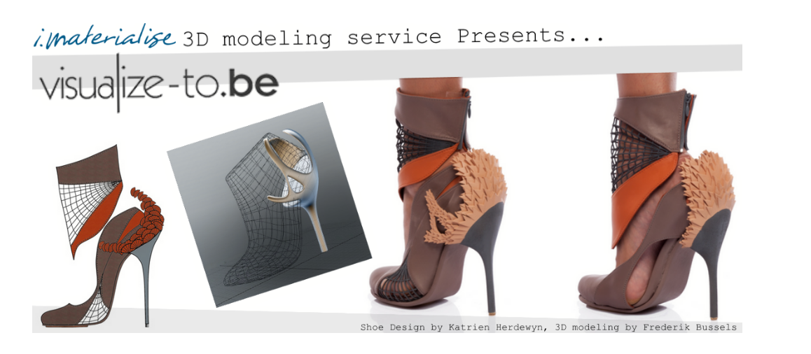 Calling all 3D Designers: Do You Have What it Takes to Join the i.materialise 3D Modeling Service?