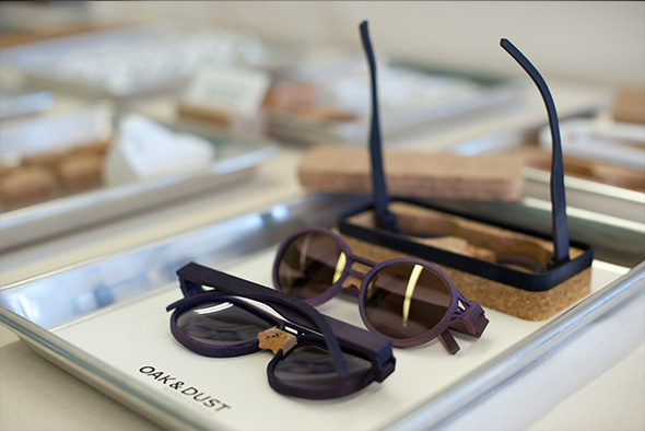 3d printed glasses frames from Oak and Dust