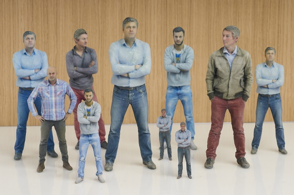 "Order your ""Mini-Me"" figurine and pick it up at Auchan Lille"