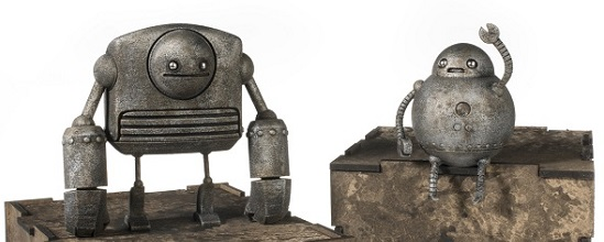 Just Robots by Onorio and Scott: The Most Adorable 3D Printed Robots Ever!