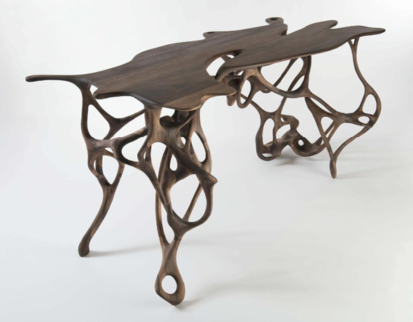 3d printing meets traditional cabinetmaking 3d printed for Furniture 3d printing