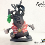 The Magical World of 3D Printed Comic Creatures: The Adorable Mushables by Elfriede de Rooster