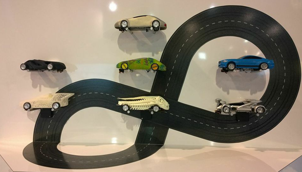 Slotcars from the Euromold Race