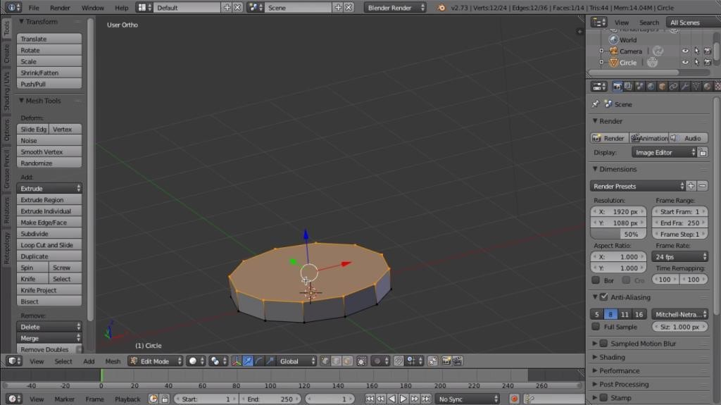 3D printing blender tutorial