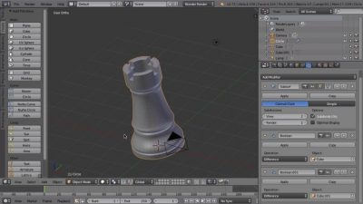 Blender Tutorial: Creating a Chess Piece for 3D Printing