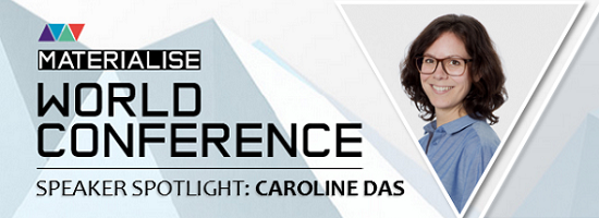 "Speaker Spotlight: Caroline Das on ""3D Printing Technology as a New Craftsmanship"""