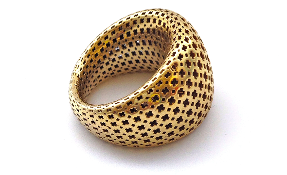 Pos.i.tive ring by Designeradesigns