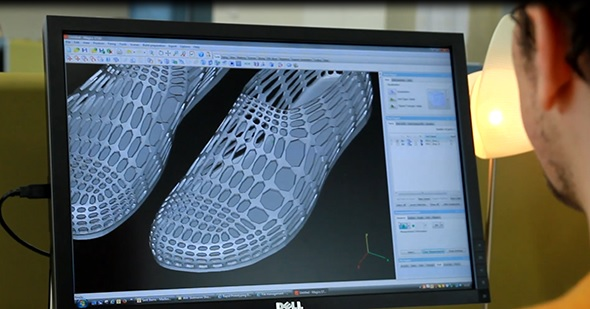 Designing 3D printed footwear and shoes
