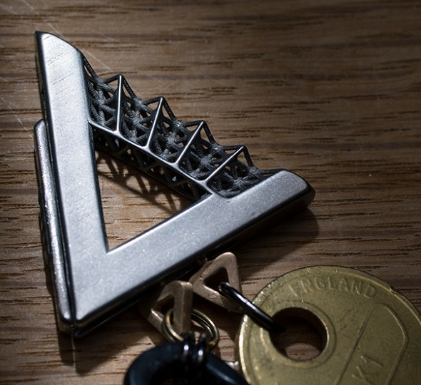 turning a smart idea into 3d printed reality a simple keychain that
