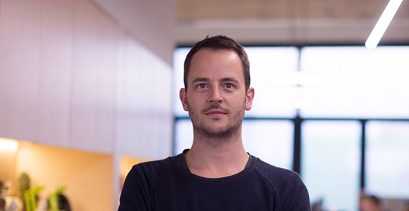 Martijn Joris, co-founder of Belgian start-up Twikit