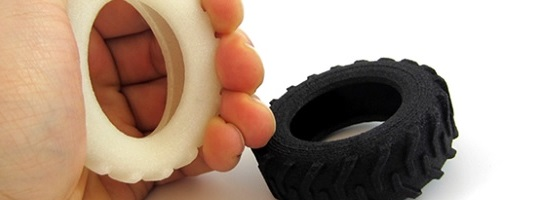 Making 3D Printing More Flexible: New Color Option for Rubber-Like Material