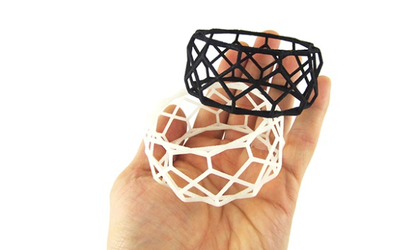 Printing flexible fashion items with rubber-like