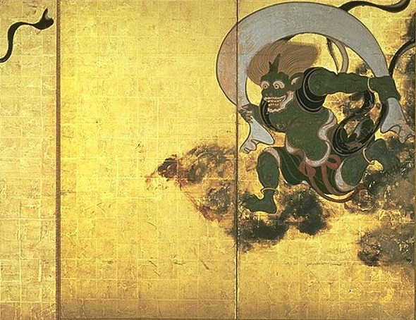 Fujin, Japanese God of Wind
