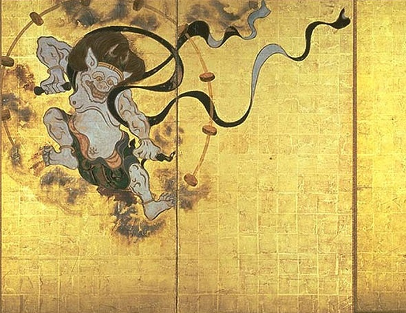 Japanese God of Lightning and Thunder