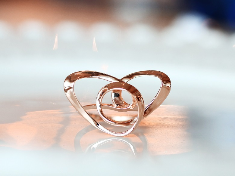 brass-3d-printed-ring