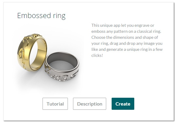 Create Your Own Ring Online