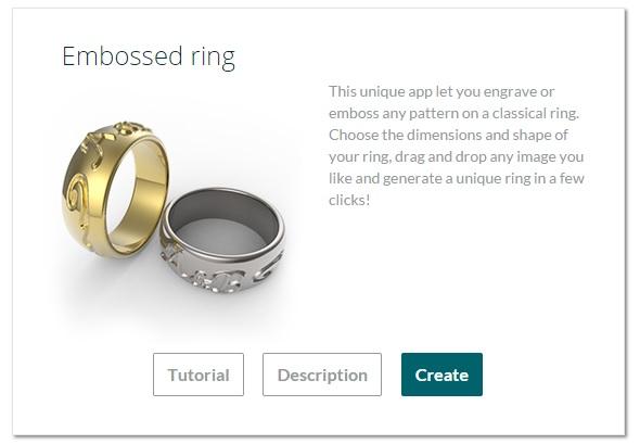 Make your own ring online 3d printing blog for Make 3d online