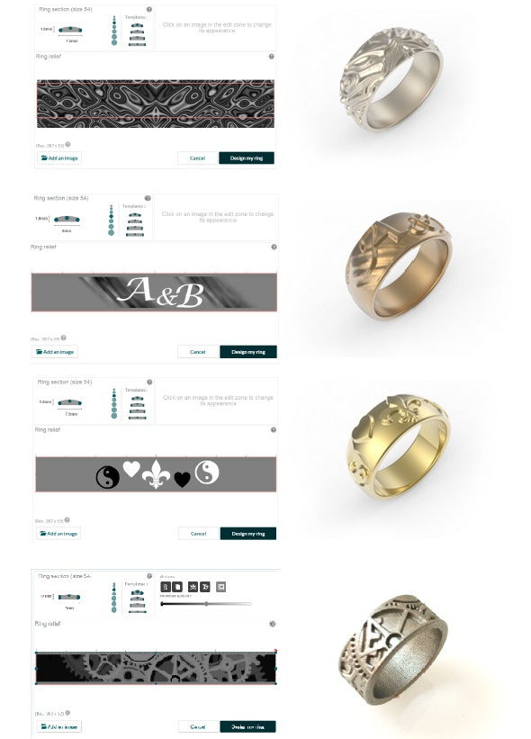 Make Your Own Ring Online 3D Printing Blog imaterialise