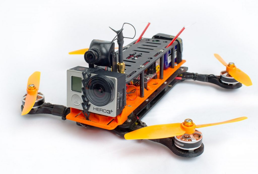 photo regarding 3d Printable Drone known as Final 8: The Ideal 3D Revealed GoPro Add-ons Mounts 3D
