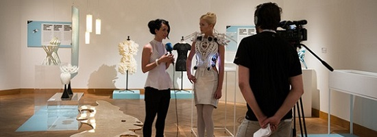 A Museum Exhibition that Presents 3D Printing of Today and the Future