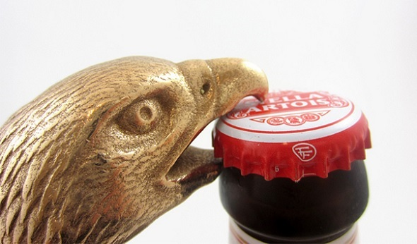 Eagle Head Bottle Opener by Andrew Martin