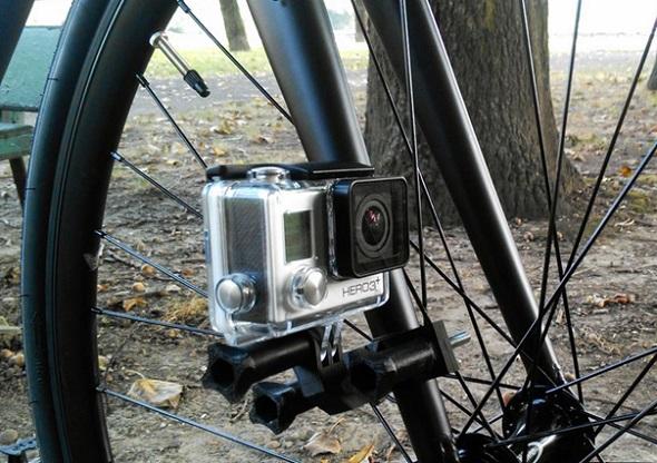 3D Printed GoPro Bike Mount