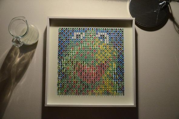 最初に浮かび上がるのは、カエルのカーミット。'Got M?' by Drzach & Suchy