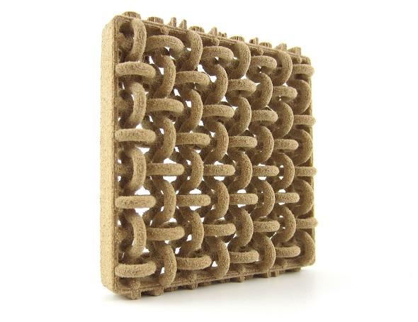 こんな入り組んだ構造も一度に3Dプリントできます。こんな入り組んだ構造も一度に3Dプリントできます。