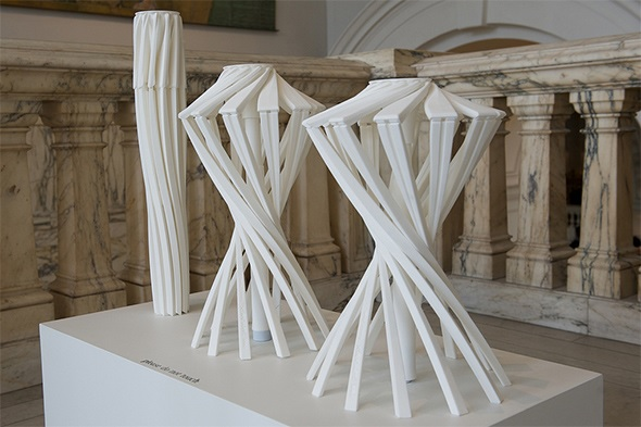 3D printed in one piece: One_Shot.MGX by Patrick Jouin.