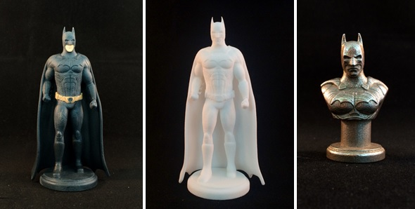 3D printed Batman figurine