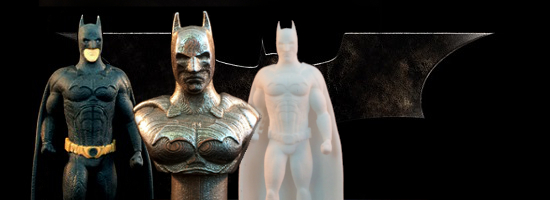 Batman Begins: World's First Official 3D Printed Batman Revealed
