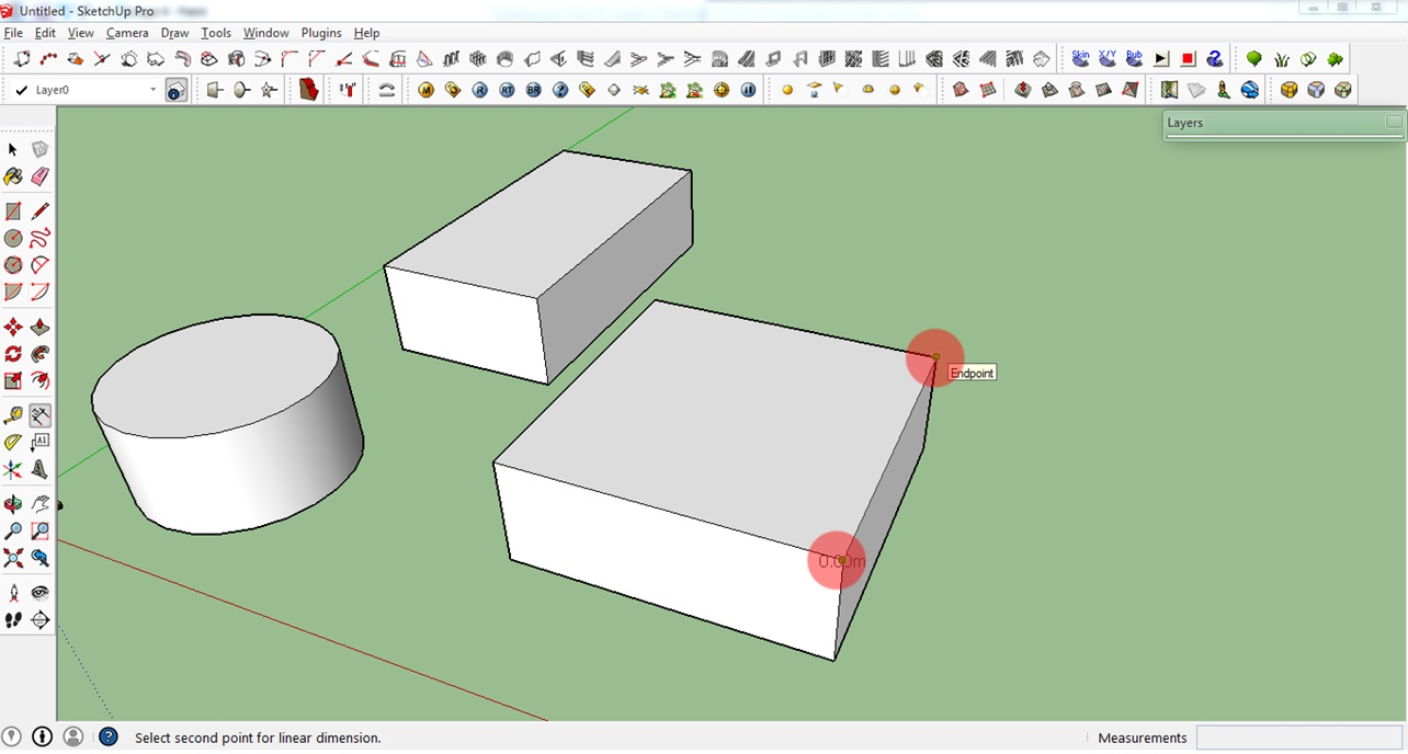 how to create your first 3d model in sketchup a beginner friendly introduction 3d printing. Black Bedroom Furniture Sets. Home Design Ideas