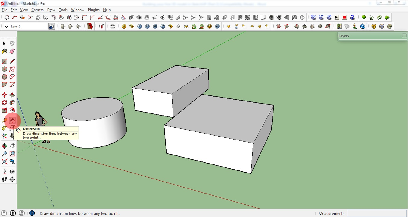 How to create your first 3d model in sketchup a beginner Google 3d software