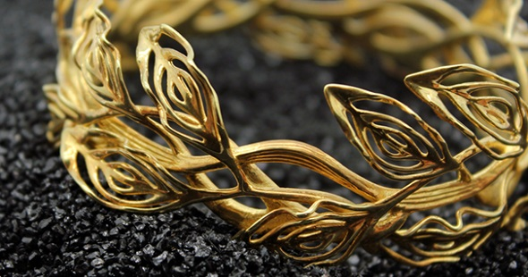 3D printed jewelry by desmond chan