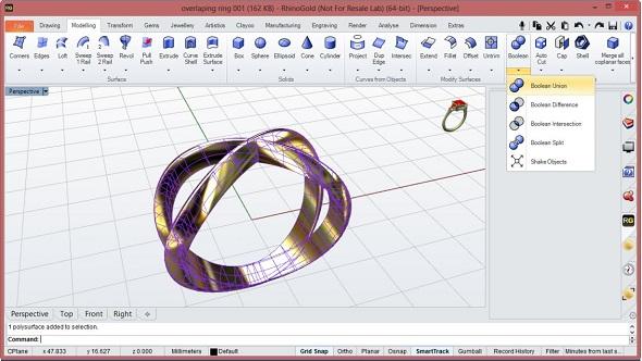 3d model ring size