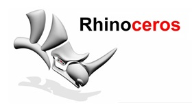 logo of 3d modeling software rhino