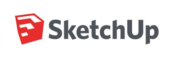 logo of 3d modeling software sketchup