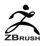 logo of 3d sculpting software zbrush