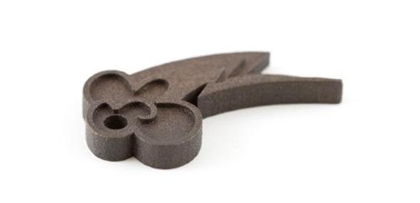 3d printing in black steel