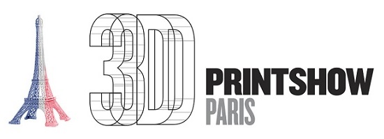 logo of the 3d print show france
